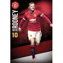 Maxi Poster Manchester United Rooney 14/15