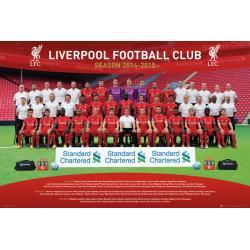 Maxi Poster Liverpool Team Photo 14/15