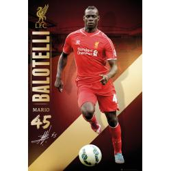 Maxi Poster Liverpool Ballotelli 14/15