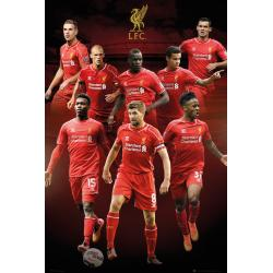 Maxi Poster Liverpool Collage 14/15