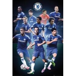 Maxi Poster Chelsea Collage 14/15