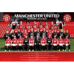 Maxi Poster Manchester United Team Photo 14/15