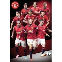 Maxi Poster Manchester United Player Collage 14/15