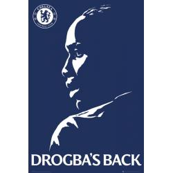 Maxi Poster Chelsea Drogbas Back