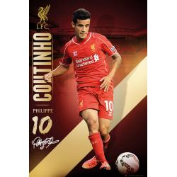 Maxi Poster Liverpool Coutinho 14/15