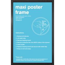 Marco Negro Maxi Poster moldura curva 61x91.5cm