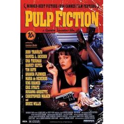 Poster Portada Pulp Fiction