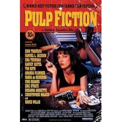 Poster Portada Pulp Fiction