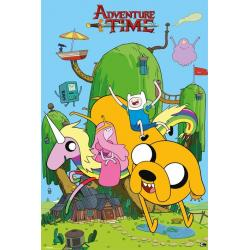 Maxi Poster Adventure Time Casa
