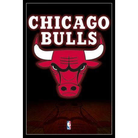 Maxi Poster Nba (Chicago Bulls Logo) - Nosoloposters.com