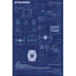 Maxi Poster Star Wars Gallactic Empire Machine