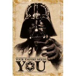 Maxi Poster Darth Vader Tu Imperio te necesita