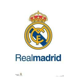 Poster Real Madrid Escudo Real
