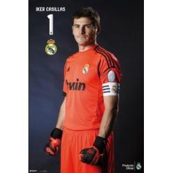 Poster Real Madrid Casillas