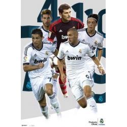 Poster Real Madrid Varios Jugadores 2012-2013