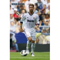 Poster Real Madrid Sergio Ramos 2012-2013