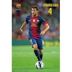 Poster F.C. Barcelona Cesc Fabregas