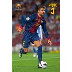 Poster F.C. Barcelona Pique
