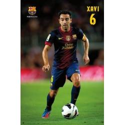 Poster F.C. Barcelona Xavi