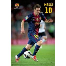 Poster F.C. Barcelona Messi