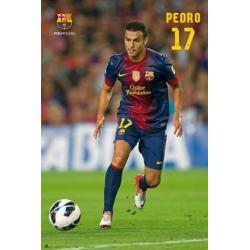 Poster F.C. Barcelona Pedro Rodríguez