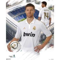 Miniposter Real Madrid Xabi Alonso 2011-2012