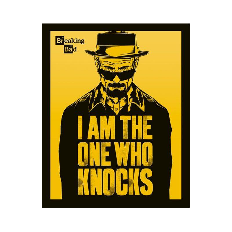 mini poster breaking bad i am the one who knocks. Black Bedroom Furniture Sets. Home Design Ideas