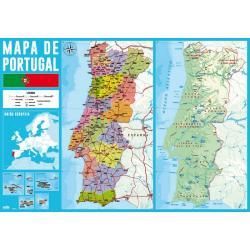 Vade Escolar Mapa De Portugal