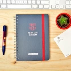Cuaderno Tapa Forrada Premium A5 F.C. Barcelona