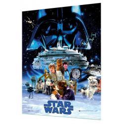 Poster 3D Star Wars