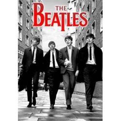 Poster 3D Beatles B/N