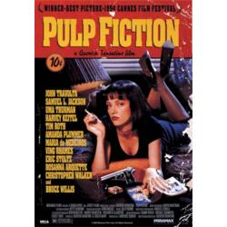 Poster 3D Pulp Fiction