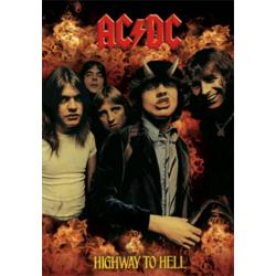 Poster 3D Ac/Dc Highway To Hell