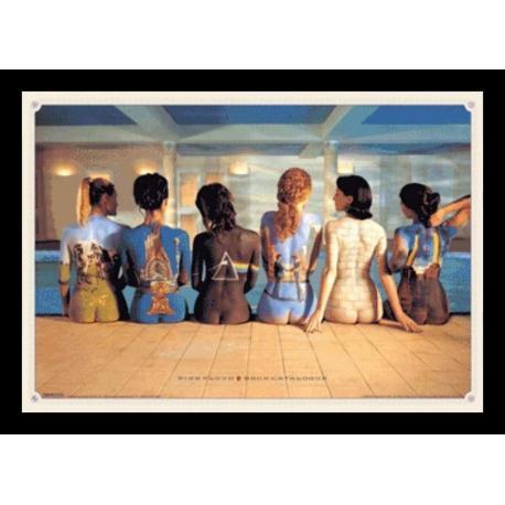 Poster 3D Enmarcado Pink Floyd