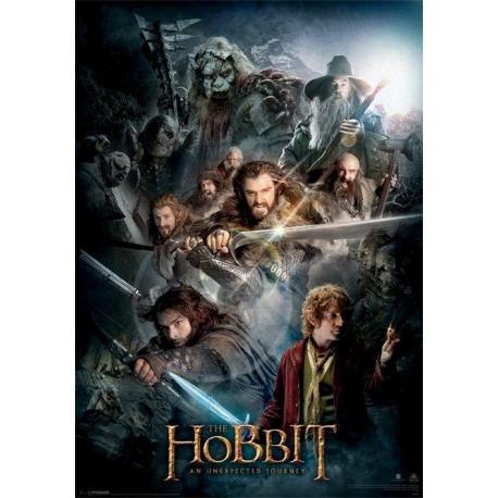 Poster 3D El Hobbit Dark Montage