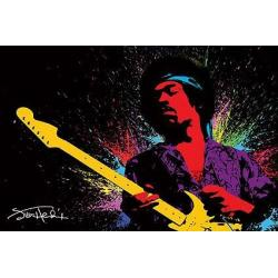 Poster Dibujo Jimi Hendrix