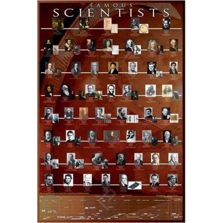 Poster Científicos Famosos