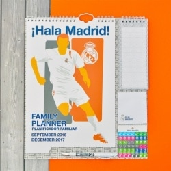 Planificador 2016/2017 Real Madrid