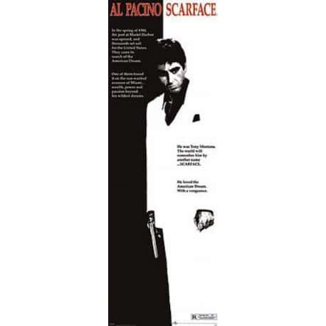 Poster Puerta Scarface