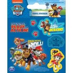 Paw Patrol (On a Roll) Vinyl Sticker