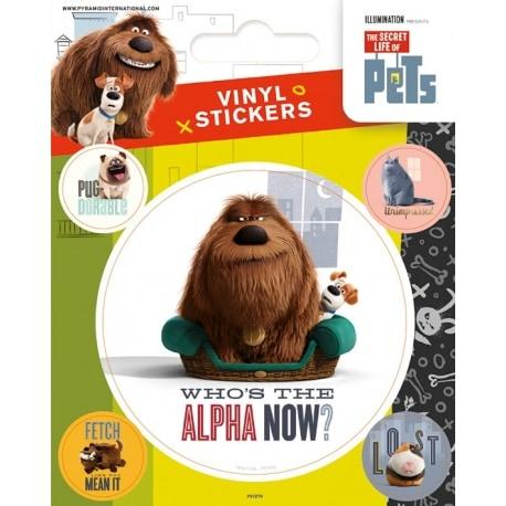 Pegatina La Vida Secreta de las Mascotas Alfa