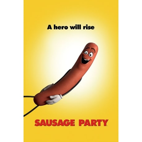 Sausage Party (Teaser) Maxi Poster