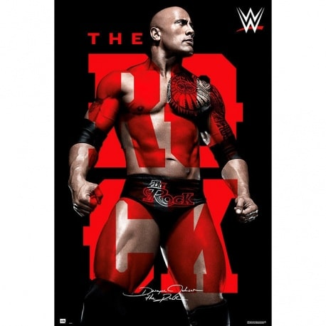 Poster Wwe The Rock