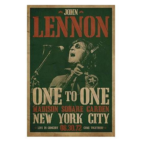 Poster Portada Concierto John Lennon