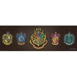 Harry Potter (Crests) Slim Poster