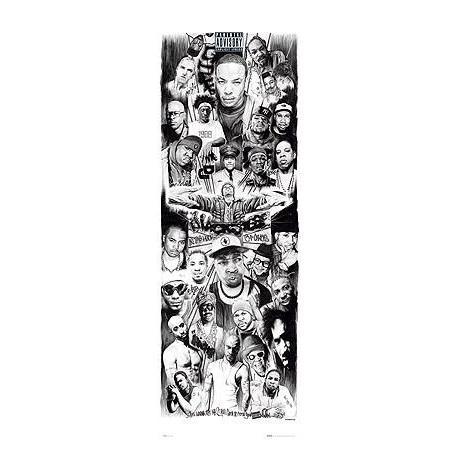 Poster Puerta Rap Gods