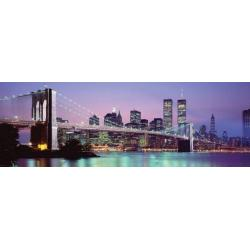 Poster Puerta New York Skyline
