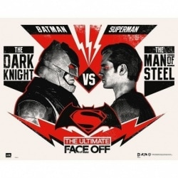 Mini Poster Batman V Superman Ultimate Face Off