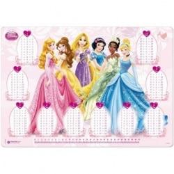 Vade Escolar Tabla  Multiplicar Princesas Y Rapunzel Hfe