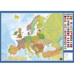 Vade de Escritorio Escolar Mapa Da Europa
